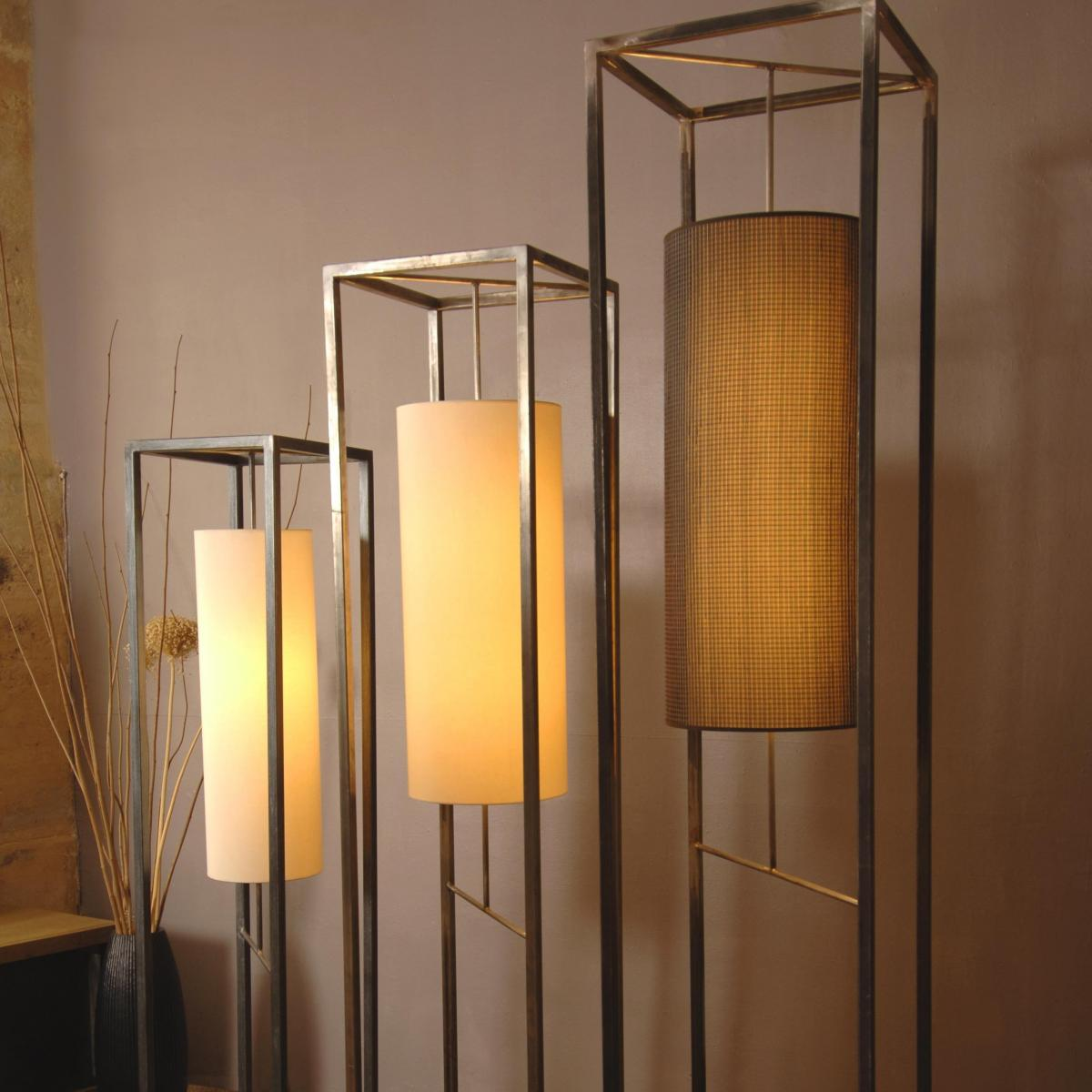 Structure de lampadaire en acier<br>