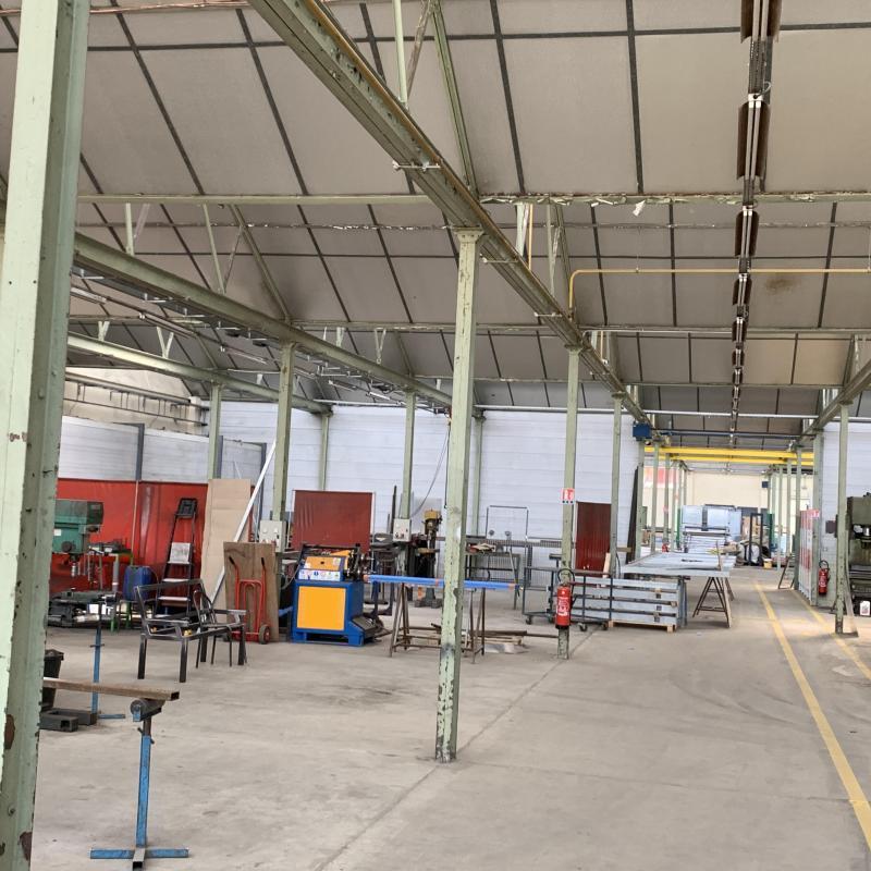 Atelier de la Métallerie AMCI du Mans (Sarthe)<br>